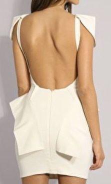 Aqua Couture sukienka ślubna origami xs 34 głęboki dekolt