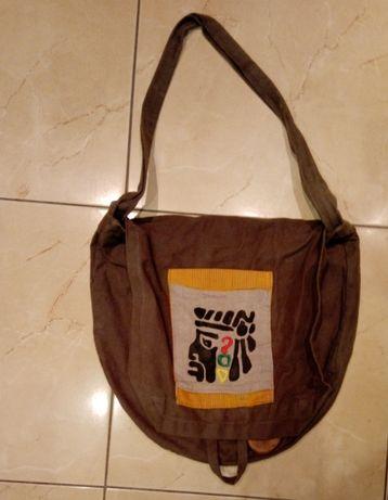 torebka w stylu etnicznym handmade