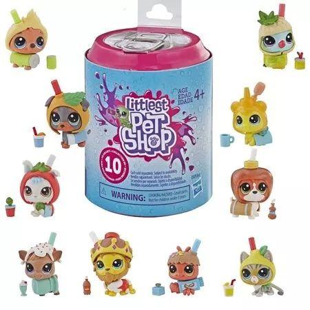 Hasbro E5479 Littlest Pet Shop niespodzianka  Figurka Tęczowi Przyjaci