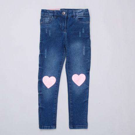 Джинси для дівчинки з серцем джинсы скини джеггинсы штаны Pepco