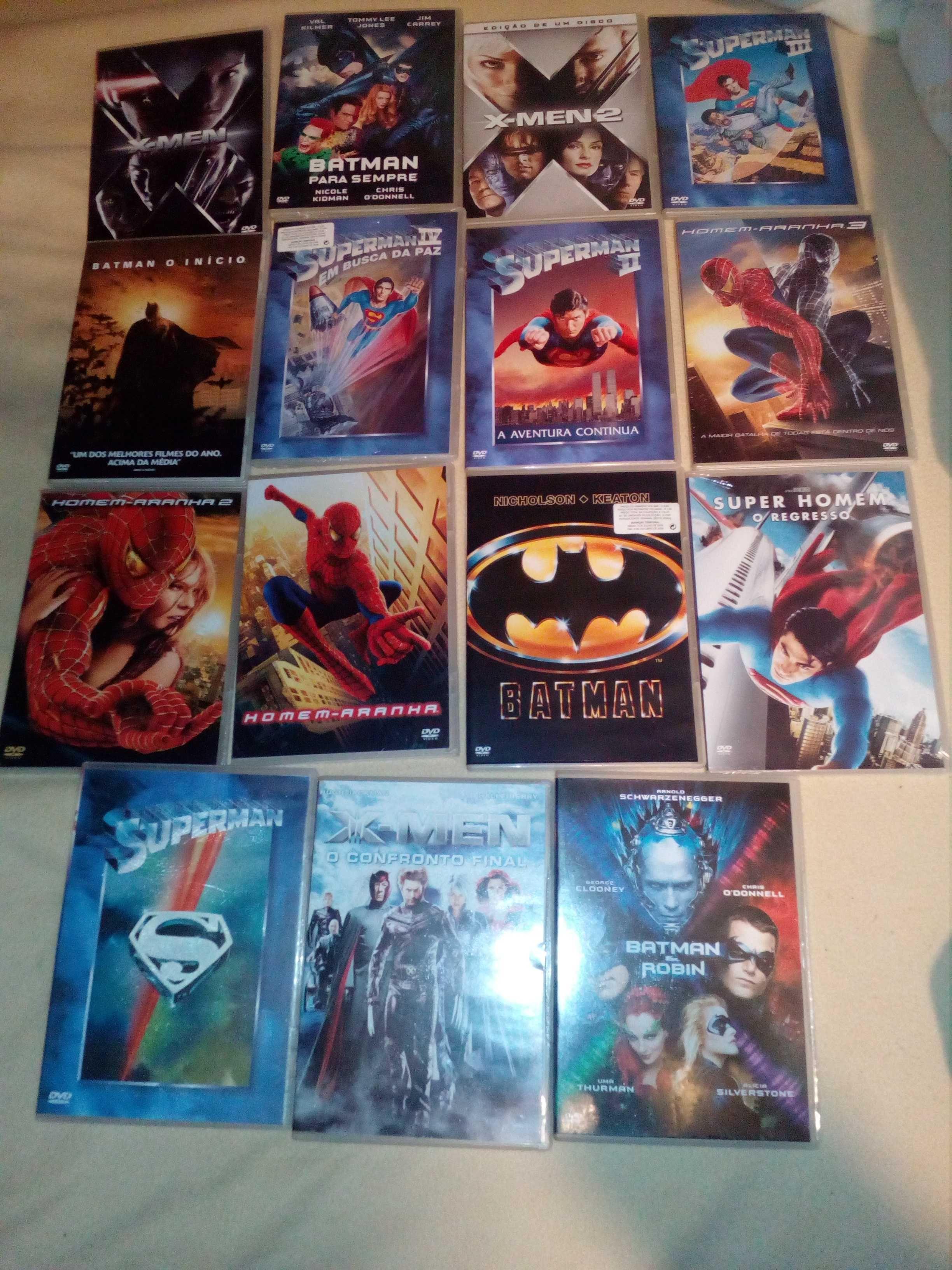 Colecção super heróis. Completa.