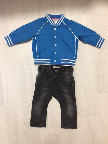 Одежда на мальчика 6-9 мес. Весна/осень