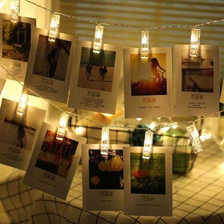 Декоративные прищепки для фотографий на гирлянду и творчества