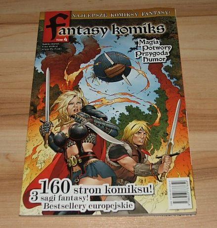 Fantasy Komiks tom 4 Magia Potwory Przygoda Humor