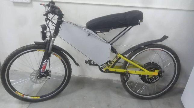 Електро велосипед, електро байк.