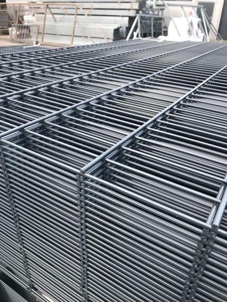 Panele ogrodzeniowe Ogrodzenia Panelowe 4-KOLORY 1230x2500mm 2D 1mb