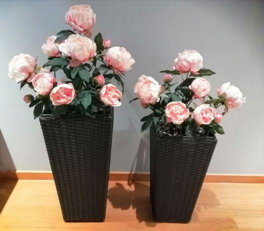 3 Vasos decorativos LINDOS!! Como NOVOS.