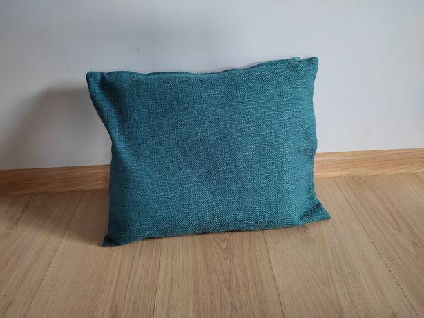 Poszewka dekoracyjna na poduszkę niebieski turkusowy