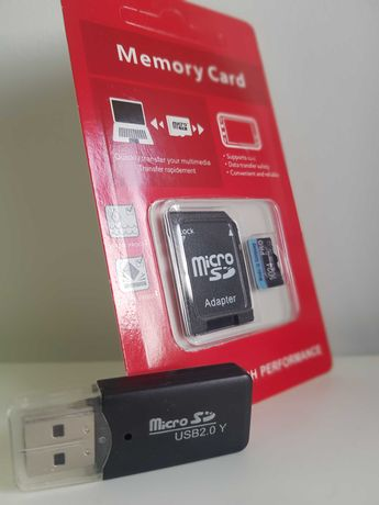 Cartão MicroSD 1TB (1024GB) + Oferta leitor cartões USB