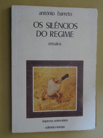 Os Silêncios do Regime de António Barreto