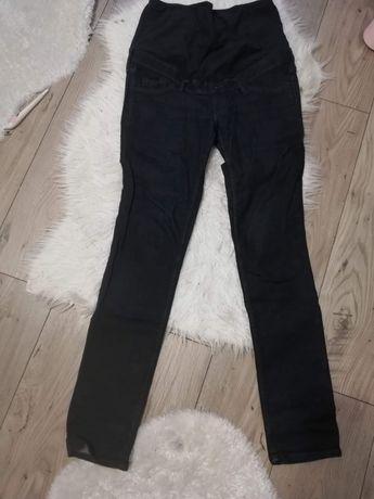 Spodnie ciazowe jeansy ciemny granat M