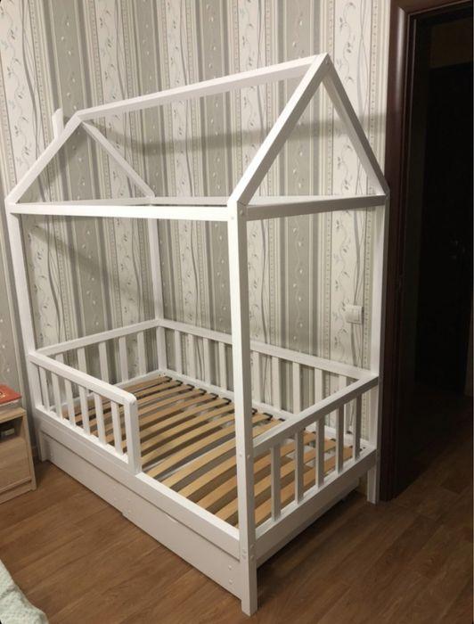 Кроватка-домик 150*80 Киев - изображение 1