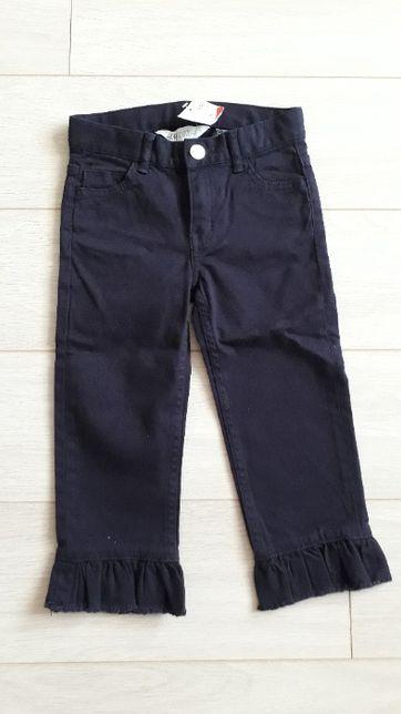 Штани нові H&M 4-6 110см брюки на девочку