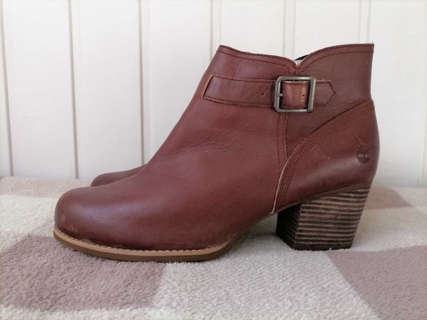 Кожаные ботинки фирмы Timberland оригинал