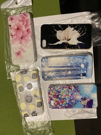 5 sztuk etui case silikonowy miękki do iPhone 7 nowe