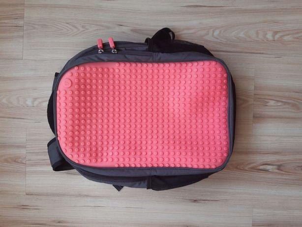 Продам портфель в школу ранец рюкзак Upixel +пиксели для украшения