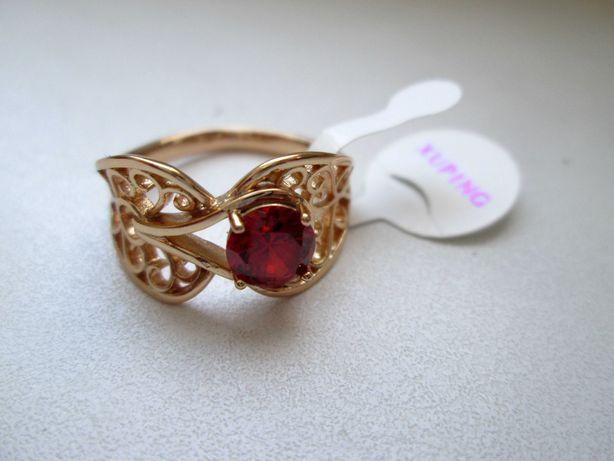 Кольцо ажурное из медицинского золотота
