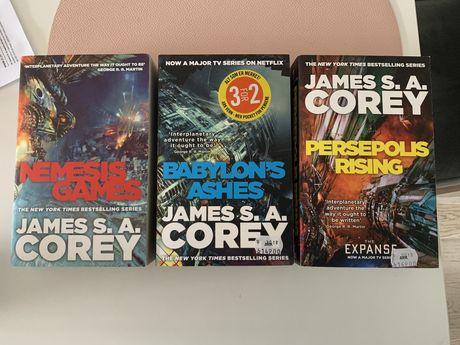 """James S.A. Corey """"The Expanse"""" czesci 5, 6 (po angielsku)"""