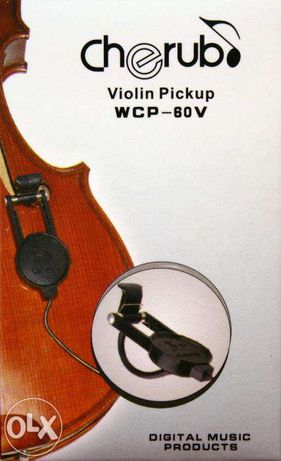 Pickup - captador para violino, viola, guitarra, bandolim e outros