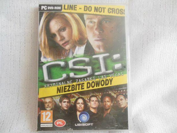 Gra PC CSI kryminalne zagadki Niezbite dowody