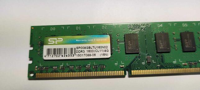 Память для ПК SILICON POWER DDR3 1600 8GB