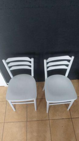 Krzesła gięte model A-7342 Radomsko PRL lata 60.