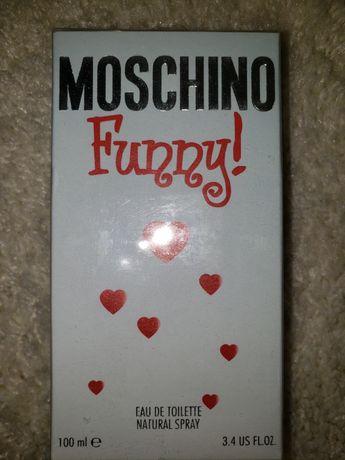 Духи женские / парфюм / туалетная вода Moschino Funny 100 мл