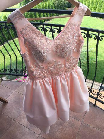 Piękna sukienka rozm 36 38 nowa