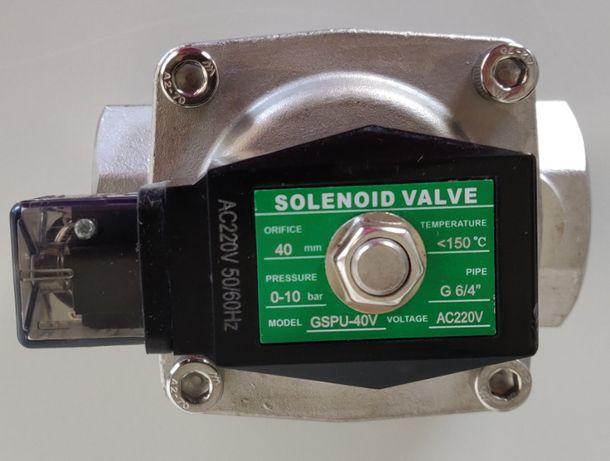 Eletroválvula Selenoide 3/4'' normalmente fechada - fluidos até 150º