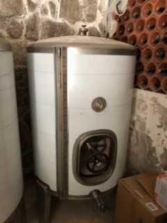 Cuba 550 litros em Inox