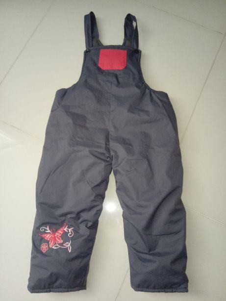 Nowe spodnie zimowe rozm. 98 104 / bardzo ciepłe