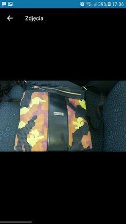 Kazar listonoszka multikolorowa torebka torba oryginalna