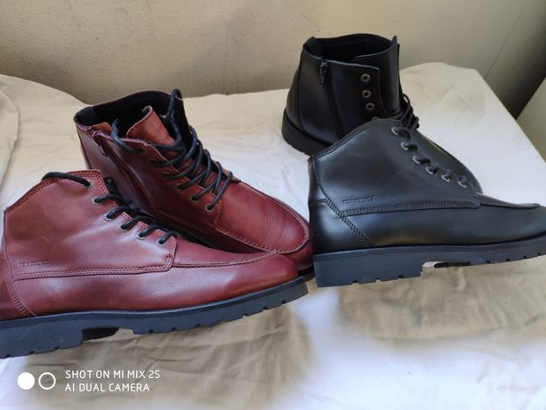 Sapatos Botas botins pele 43 44