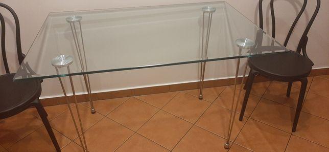 Szklany stół z BRW