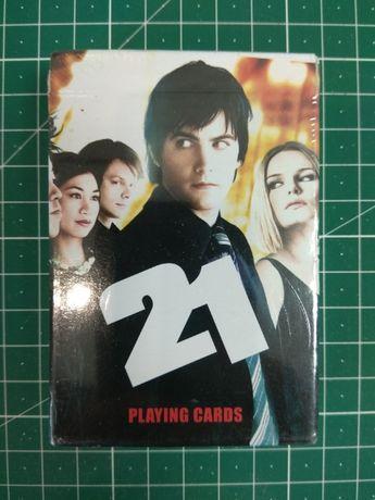 Карты игральные черные по фильму 21. Новые в упаковке