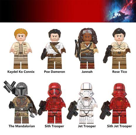 Bonecos minifiguras Star Wars nº57 (compativel com lego)