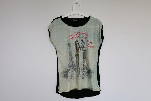 Koszulka z tiulem