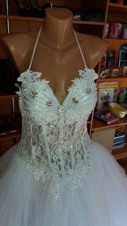 Весільна сукня 46 розміру