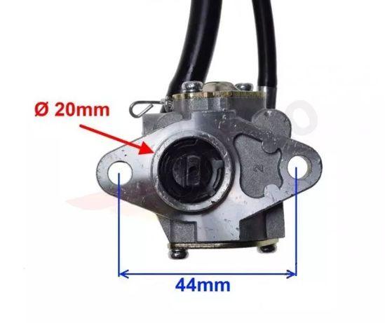 Dozownik oleju am6, linka gazu, zbiornik na olej (beta, Yamaha dt50)