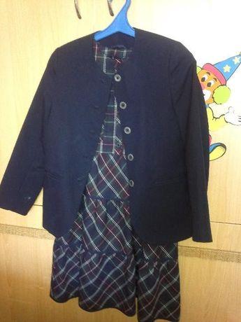 Продам школьную форму (пиджак+сарафан 11-13 лет)