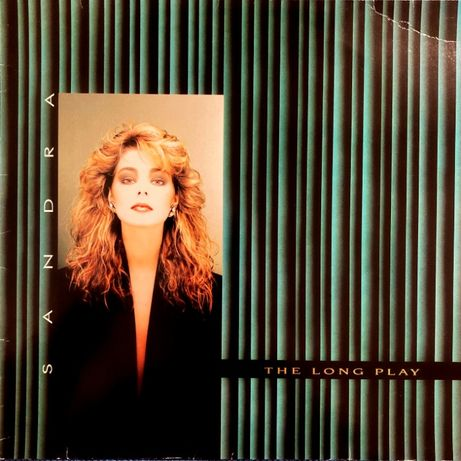 Sandra – The Long Play 1985 Europe пластинка винил LP альбом