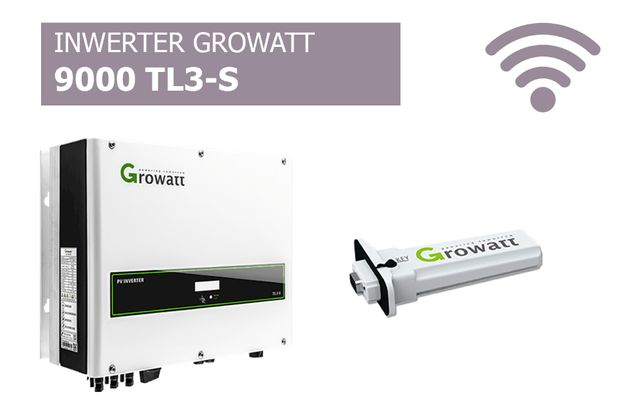 Falownik Growatt 9000 TL3-S WiFi Inwerter cena brutto