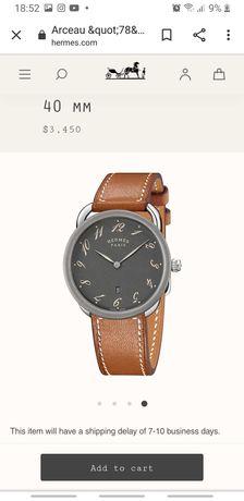 Часы Hermes 40mm  Оригинал !!
