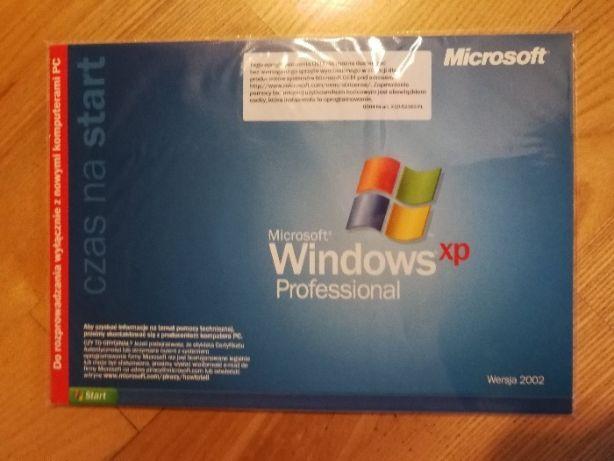 Windows XP Professional PL wersja OEM nośnik + licencja do naklejenia