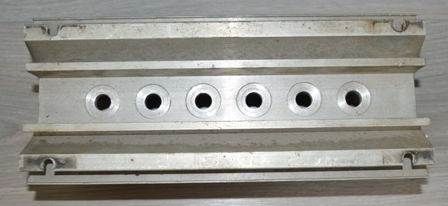 Duży radiator aluminiowy - diody, tyrystory.