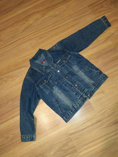 Kurtka jeansowa chłopięca