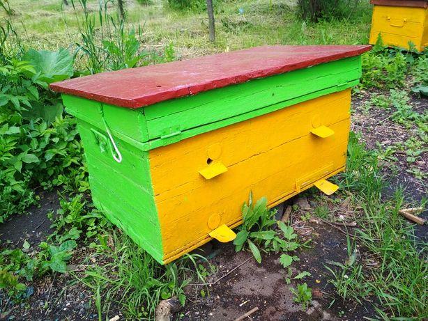 Улья для пчел Б. У. -лежаки. двукорпусные и однокорпусные