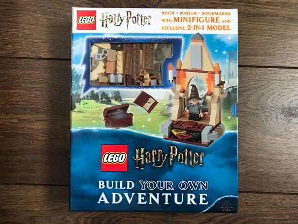 Książka LEGO Harry Potter - Zbuduj swoją przygodę - NOWA