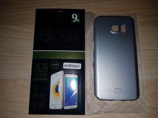 MSVII etui plecki pokrowiec Samsung Galaxy S7 + szkło 9H
