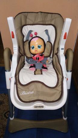 Детский стульчик для кормления CareteroBistro (cтолик для кормления)я